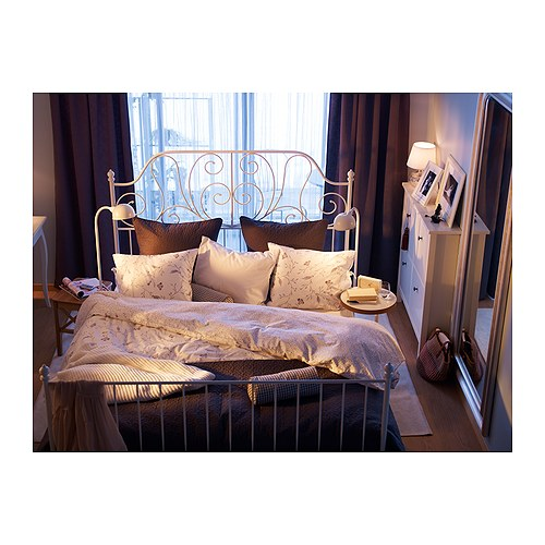 my new bed ikea leirvik born to shop forced to work. Black Bedroom Furniture Sets. Home Design Ideas